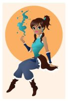 Korra by Indy-Lytle
