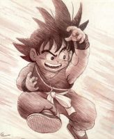 Kid Goku by Real-Warner