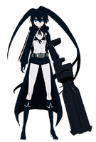 Black Rock Shooter Render 1 by GokuderaMinami