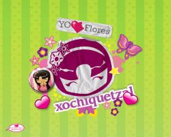 Xochi sticker by mictlantectli