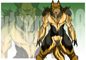 Commission for an otome game (Lika) (werewolf) by xTrent968