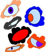 Eye practice colored by Rexouze