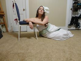 Mucha Inspired - Lily Reclined 19 by HiddenYume-stock