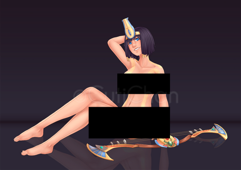 Neith_Commission by CutiChan