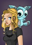 She named him Squee! by Zimmer-man