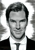 Benedict Cumberbatch by AmBr0