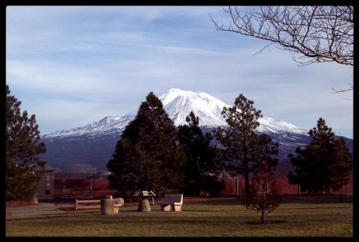 Resting By Mt.Shasta by LalaLottaLove