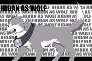 --+Hidan as wolf+-- by Marre-Chan95