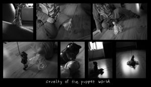 Cruelty of the puppet world by bionomi