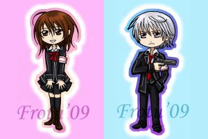Vampire Knight Chibis by Frotu