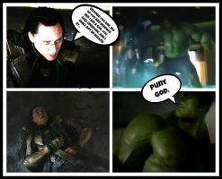 FUNNY THE AVENGERS SCENE by RetardMessiah