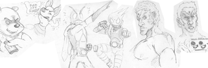 sketches by bbbmac