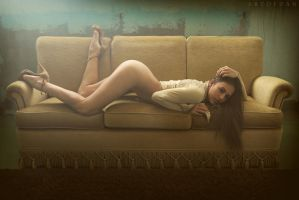 Relaxing Couch by artofdan70