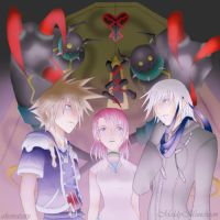 Kingdom Hearts II - Ominous by MoldyMuncheon