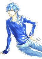 Copic test : Aoba by Lefterstein