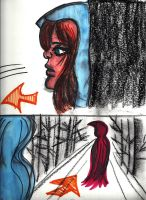 Red in the Woods SB 5 by Sarahfina-Rose