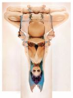 Hell Of The Upsidedown Sitter by JanuarySeraph
