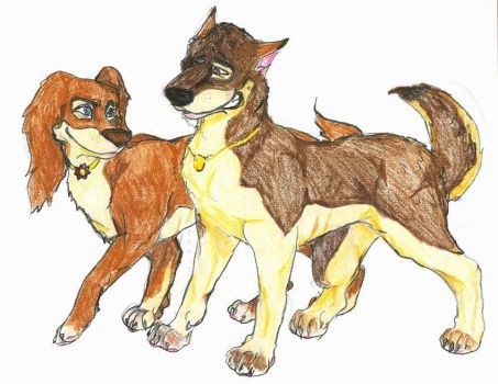 Booth and Bones - Dogs by Poe-T