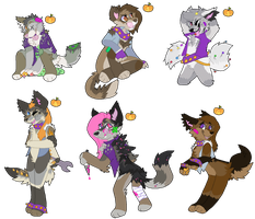'Sweet Tooths' Gang adops ($4 and less) by Supairo