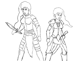 Princesses of Skyrim WIP by glue123
