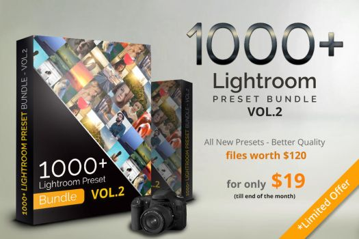 1000+ Lightroom Preset Bundle by pmvchamara