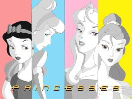 PopArt Princess Wallpaper by Anime-Ray
