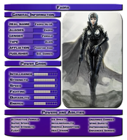 Faora Stats by vipplayer