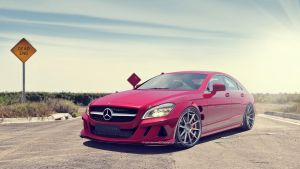 Mercedes CLS by samvesters