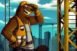 The Builder Beaver by ANGO76