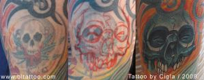 skull cover up... by cigla