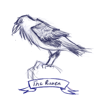 The Raven by frisca-freak