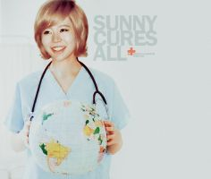 SUNNY: THE DOCTOR IS IN (VER.2) by spiderliliez