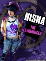 Nisha- Borderlands the Pre-Sequel by Tattsnewworldorphan