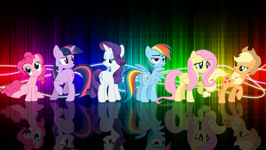 The Mane 6 by rainbowdash5846