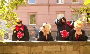 Naruto Shippuuden - Funny Group of Akatsuki by Mada-Chan2009