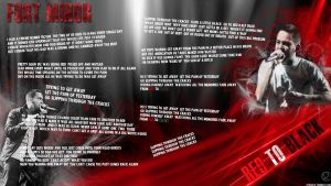Fort Minor - Red to Black by LPSoulX