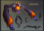 Monster Hunter Monster - BrazoLargo by meeoh