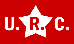 URC flag and emblem by Party9999999