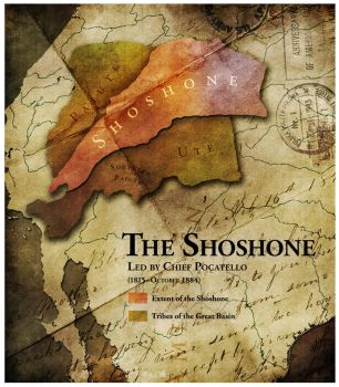 Civilization 5 Map: The Shoshone by sukritact