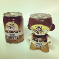 Mr. Brown Munny by spilledpaint88
