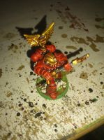 Blood angels honour guard by Danhte