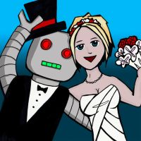 Marrying Machines Cover Art by pinguino