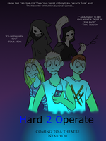 Hard 2 Operate Poster by NoneToon