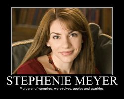 Stephenie Meyer by NearRyuzaki90