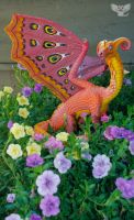 Francis the Tropical Dragon by ART-fromthe-HEART