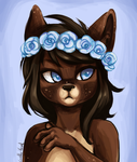 Flowercrown by Corelle-Vairel