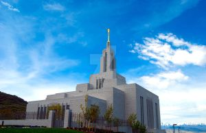 LDS Draper Temple 1 by creativelycharged