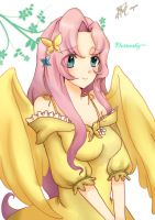 Fluttershy -My Little Pony by kichikutie23