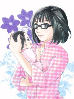 Me and My Daughter by Rupyon