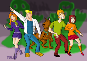 Scooby Gang by TULIO19mx